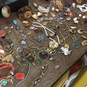 Jewelry - Vintage jewelry outdated some needs repair